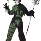 IT Renaissance Jokes on You Evil Jester Child Costume Size: Large #00338