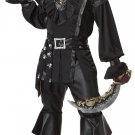 Black Beard Plundering Pirate Adult Costume Size: Large #01188