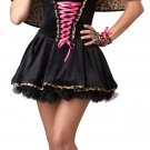 Frisky Kitty Cat Leopard Adult Costume Size: Large #01195