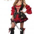 Sexy Spanish Pirate Adult Costume Size: Medium #01196