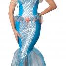 Ariel Mermaid Sea Siren Adult Costume Size: Large #01200