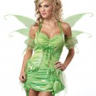 Sexy Tinkerbell Fairy Adult Costume Size: Large #01220