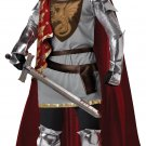 Medieval Knight King Arthur Renaissance Adult Costume Size: Large #01234