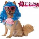 Cupcake Girl Katy Perry Dog Costume Size: Medium #20112
