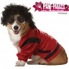 Pop King Michael Jackson Dog Costume Size: Large
