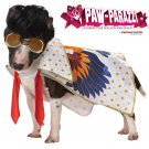Elvis Rock N Roll Dog King Costume Size: X-Small #20114