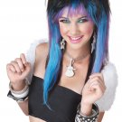 Rave Candy Heavy Metal Adult Costume Wig #70674