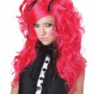 Doll House Playboy Rock Star Adult Costume Wig #70668