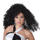 Dancing Queen Disco Fever Adult costume Wig #70660_Black