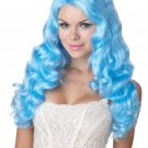 Cup Cake Sweet Tart Baby Blue Adult Costume Wig # 70614