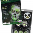 Toxic Zombie Make Up Kit Costume Accessory