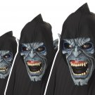 Zombie Phantom Night Stalker Devil Vampire Adult Costume Ani-Motion Mask #60304
