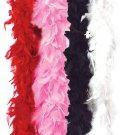 Feather Boa Fashion Flapper Costume Accessory  #60113_Red