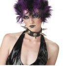 Glitter Punk Rock Star Adult Costume Wig #70436