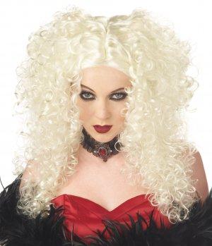 Western Burlesque Madame Macabre Adult Costume Wig #70243