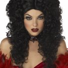 Gothic Vampire Madame Macabre Adult Costume Wig #70241