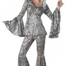 Foxy Lady Disco Adult Costume Size: Large