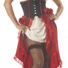 Cantina Gal  Latina Adult Costume Size: Large #00861