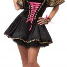 The Cats Meow Leopard Teen Costume Size: Jr (7-9) #05123