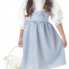 Dorothy Wizard Of Oz Child Costume Size: Large #00560