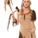 Indian Top Of the Tribe Adult Costume Size: Medium/Large