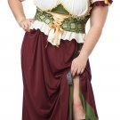 Renaissance Wench Tavern Maiden Adult Plus Size Costume: 2X-Large #01705