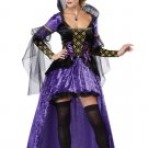 Medieval Times Snow White Wicked Queen Renaissance  Adult Costume Size: X-Large #01256