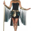 Queen Cleopatra Egyptian Goddess Adult Costume Size: Small #01271