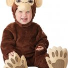Chimpanzee Monkey Infant Costume Size: Medium