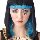 Queen Cleopatra Egyptian Sapphire Adult Costume Wig #70102