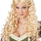 Games of Throne Renaissance Princess Medieval Adult Costume Wig #70695