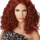 Sexy Bodacious Waves Girls Gone Wild Adult Red Costume Wig #70738
