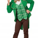 Lucky Leprechaun St. Patrick's Day Men's Costume Size: Large #01306