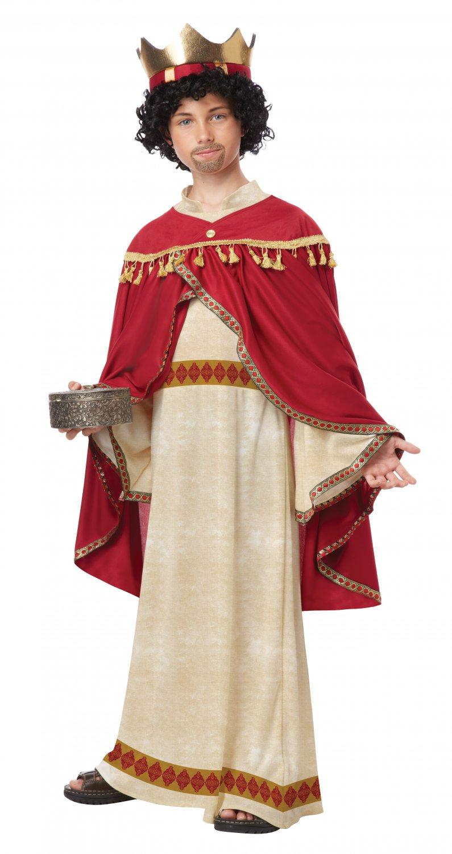 Christmas Nativity Melchior of Persia Child Costume Size: Medium #00442