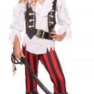 Posh Pirate Child Costume Size: X-Large #00450