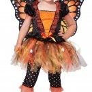 Butterfly Magnificent Monarch Toddler Costume Size: Medium #00149