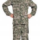 Army Marine Navy Military Soldier Child Costume Size: Medium #00468