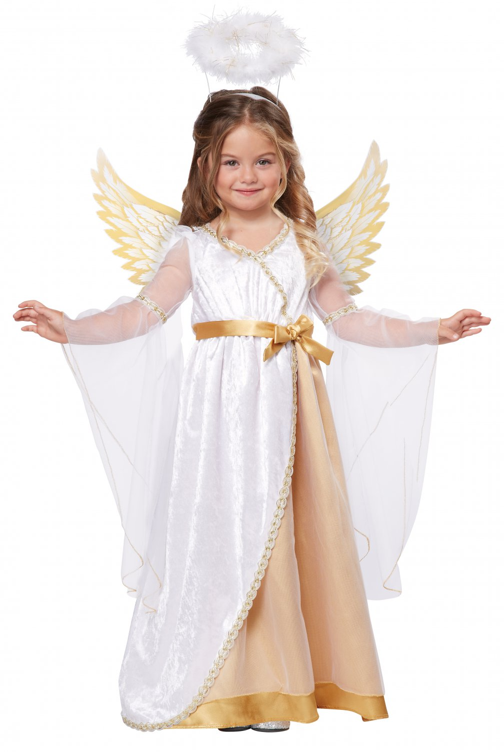 Christmas Sweet Little Angel Toddler Costume Size: Large #00146