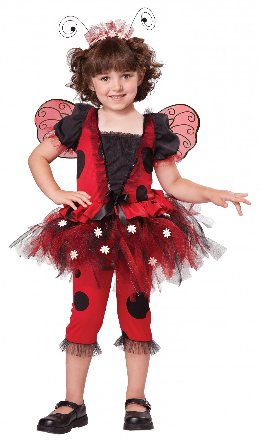 Lovely Ladybug Toddler Costume Size: Medium #00152
