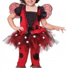 Lovely Ladybug Toddler Costume Size: Large #00152