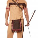 Thanksgiving Chief Indian Native American Brave  Adult Costume Size: Large  #01314