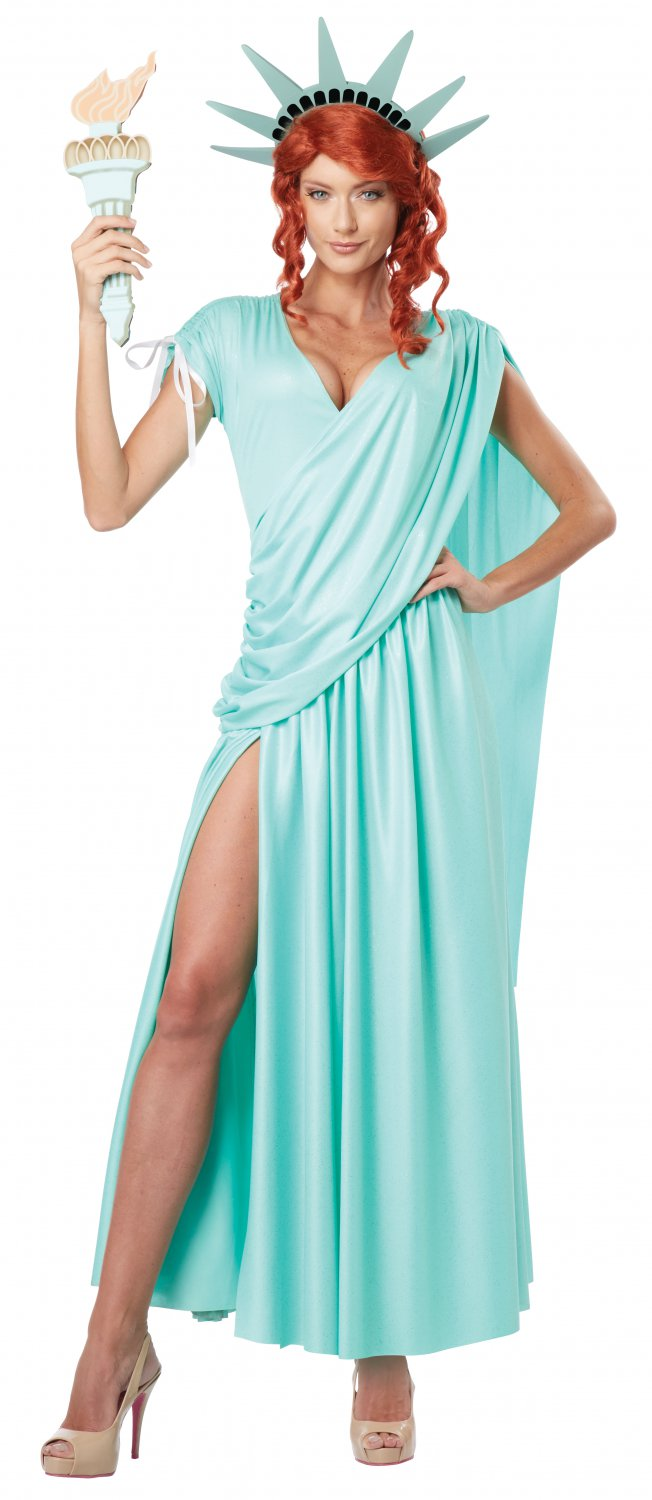 Statue of Liberty Adult Costume Size: X-Large #01310