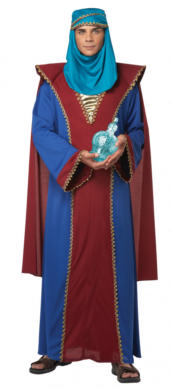 The Three Wise Men King Balthasar of Arabia Adult Costume Size: Medium #01319