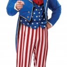 Patriotic Uncle Sam USA  Adult Costume Size: X-Large #01309