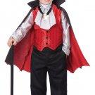 Dapper Vampire Dracula Toddler Costume Size: Medium
