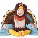 Turkey Gobble Gobble Thanksgiving Infant Costume Size: Medium