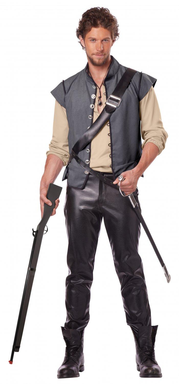 Renaissance Pirate Captain John Smith Adult Costume Size: Large #01341