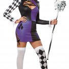 Naughty Jester Clown Adult Costume Size: Large #01340