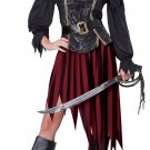 Queen of the High Seas Pirate Adult Costume Size: Large #01363