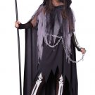 Dark Gothic Miss Grim Reaper Tween Costume Size: Large #04082
